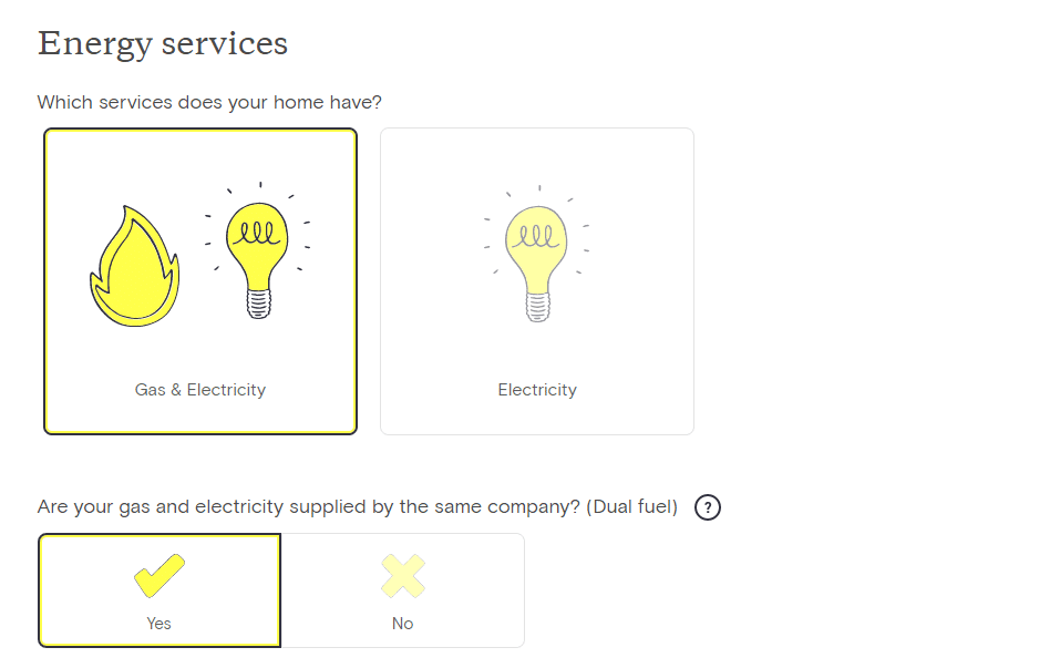 Look After my Bills Review Tariff Options